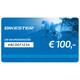 Bikester cadeaubon 100 €